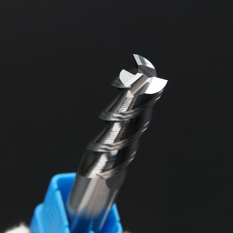 Free Shipping Wood Cutter Aluminum Endmill HRC50 3 Flute Milling Tools For Aluminum Copper CNC Milling Cutter End Mill 6mm 8mm