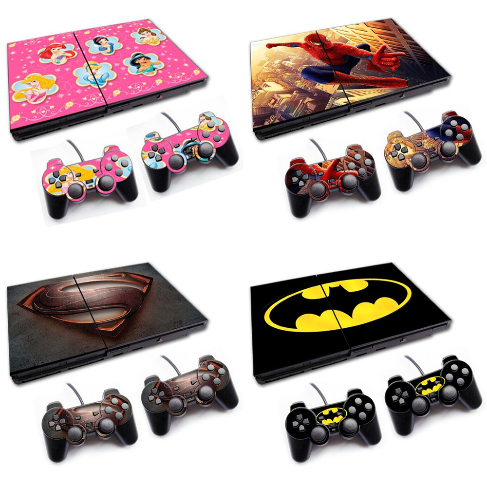 Specialized In Manufacturing Various Decal Skin Stickers For PS2 SLIM 70000 Series