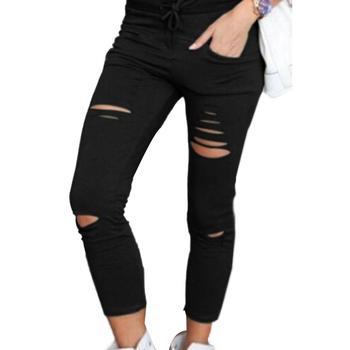 Leggings 2019 New Style Fashion Women Solid Fitness Leggings Ankle Length Stretch High Waist Leggings