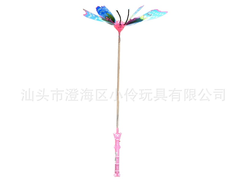 Electric Flash Butterfly With Music Wing Will Move The Hand-Held Light-emitting Butterfly Stall Hot Selling Small Toys