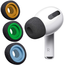 misodiko Memory Foam Earbuds Ear Tips for Apple AirPods Pro/ Air Pods 3rd Gen Wireless Earphones, Replacement Headphones Eartips