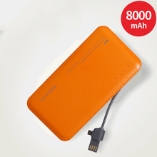 Slim Power Bank 8000mAh For Xiaomi Mi 9 8 Powerbank Pover Bank Mobile Phone Charger External Battery Pack Poverbank Portable
