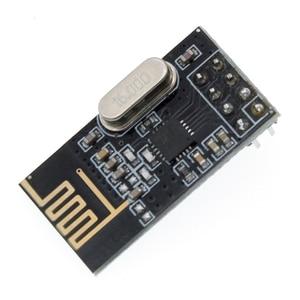 Image 2 - จัดส่งฟรี 100 ชิ้น/ล็อต NRF24L01 โมดูลไร้สาย Power Enhanced การสื่อสารไร้สาย 2.4G โมดูล