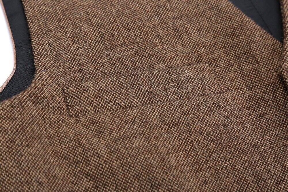 Details Donegal Tweed Vest