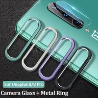 Camear-funda protectora de cristal templado para Oneplus 8 Pro, Protector de Pantalla DE LA Cámara trasera para Oneplus 7 Pro