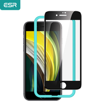 ESR Tempered Glass for iPhone SE 2nd/8/7 Full Cover Soft Edge Anti Explosion/BlueRay/Glare Glass/Frosted Screen Protector