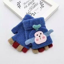 Элегантные зимние перчатки женские хлопковые перчатки варежки из искусственной замши с помпоном сенсорный драйвер экрана перчатки Новинка Осень