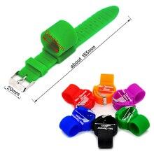 1 х часы стиль силиконовый кальян держатель шланга для кальяна Chicha Narguile шланг аксессуары для курения