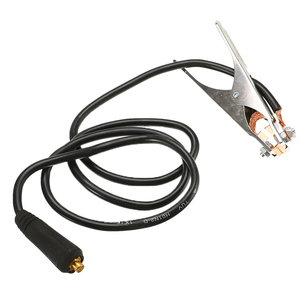 Зажим для заземления 300A, зажим для заземления, ручная сварка, держатель электрода, Сварочная обработка, Заземление с кабелем 1,5 м