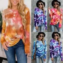 Женские футболки весна/осень 2020 женская модная одежда повседневный
