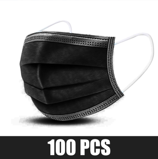 100 pcs Black