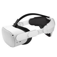 Sangle de Halo ajustable pour Oculus Quest 2 VR, augmente la Force de support et améliore le confort, accessoires