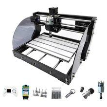 Yeni 3018 Pro Max lazer gravür DIY 3 eksen freze CNC lazer ahşap gravür makinesi yönlendiriciler çevrimdışı denetleyici 0.5W 15W