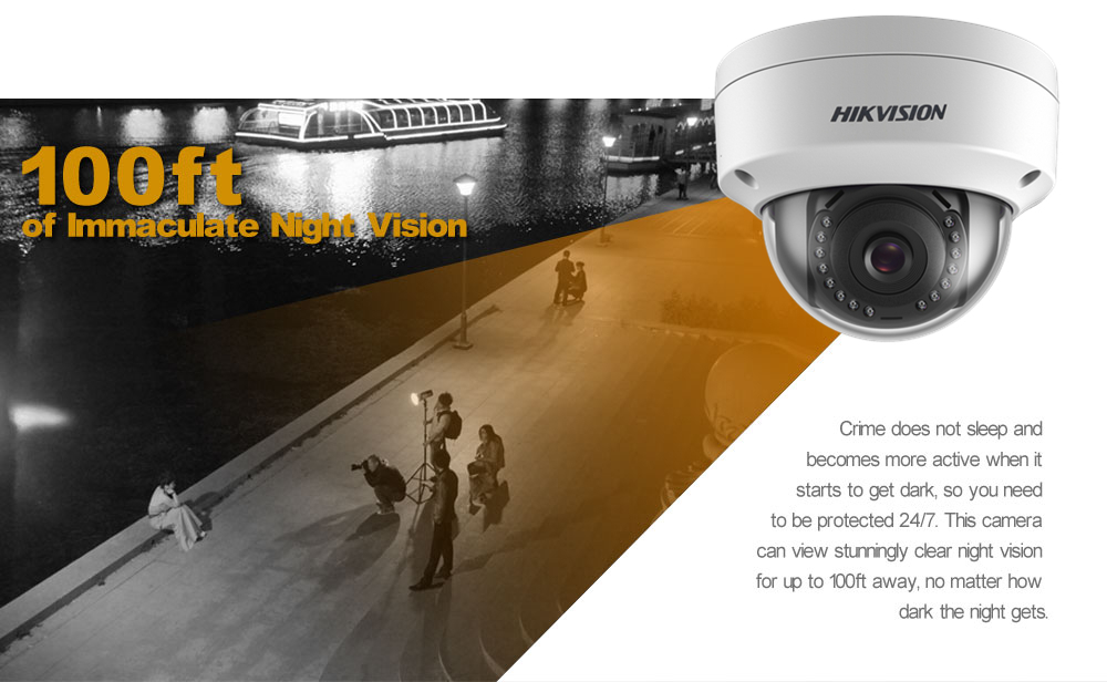 Image 5 - Orginal Hikvision 2MP Dome POE IP Camera Home/Outdoor Security ONVIF With DWDR IP 67 IR 30m Vdieo Surveillance DS 2CD1121 I-in Surveillance Cameras from Security & Protection