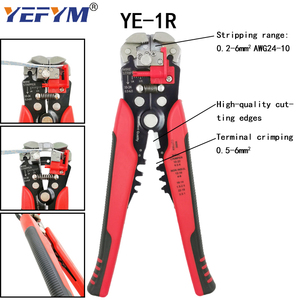 Image 4 - Tubular terminal crimping tools mini electrical pliers HSC8 10SA/6 4 0.25 10mm2 23 7AWG 6 6A 0.25 6mm2 high precision clamp set
