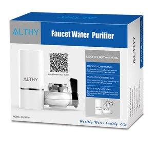Image 5 - ALTHY Tap filtr do oczyszczania wody kran kuchenny System oczyszczania wody zachowaj alkaliczne minerały usuń zapach chloru
