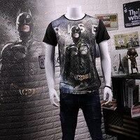 Batman T shirt Fashion Half Sleeve Japanese Korean Retro Harajuku for Men And Women Couples Short Sleeve Black T shirt NZ2