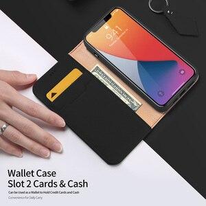 Image 3 - DUX DUCIS Portefeuille En Cuir Véritable de Luxe Pour Iphone X XS Max XR 6 7 8 Plus 12 11 Pro 11Pro Max Titulaire de la Carte De Couverture Confortable
