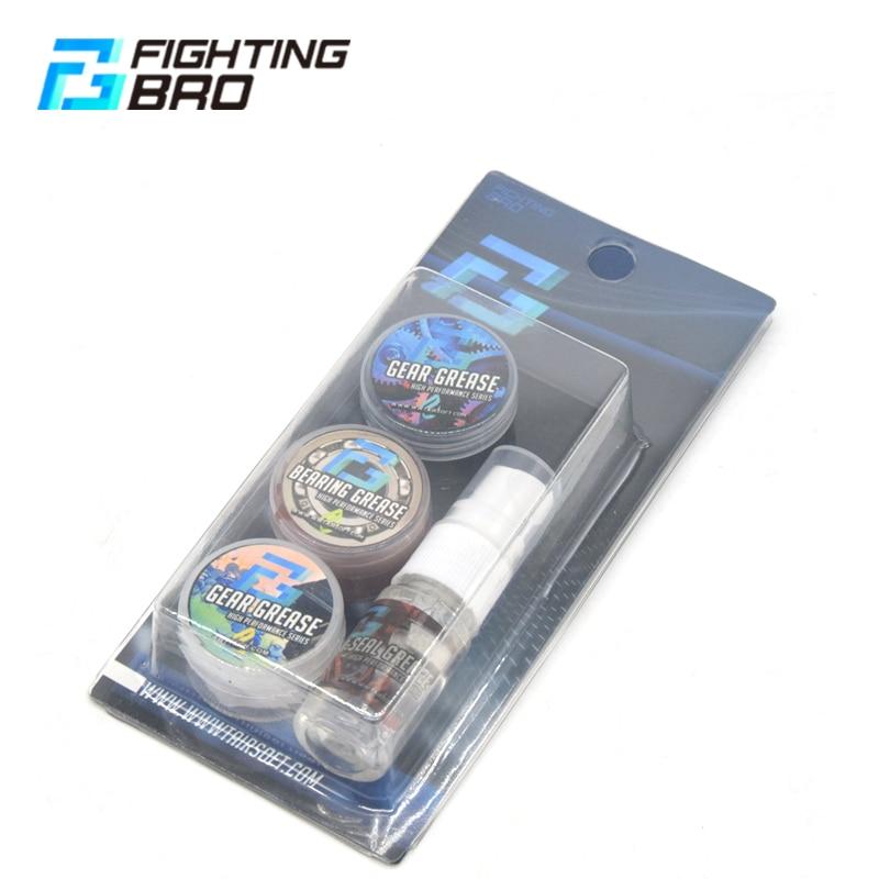 FightingBro Gearbox Oils Grease Gel Blaster Shim Bearing Gear Set Upgrade Paintball Accessories AEG Air Gun General