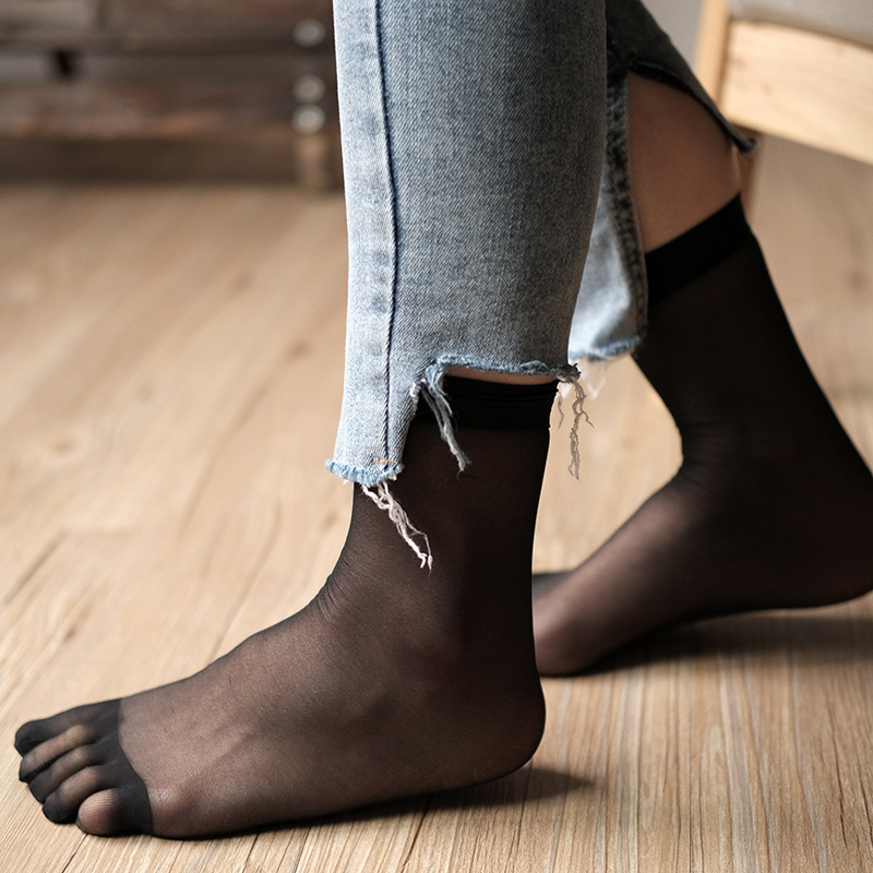 2020 New Summer Women Five Finger Socks Casual Toe Socks Breathable Calcetines Ankle Socks