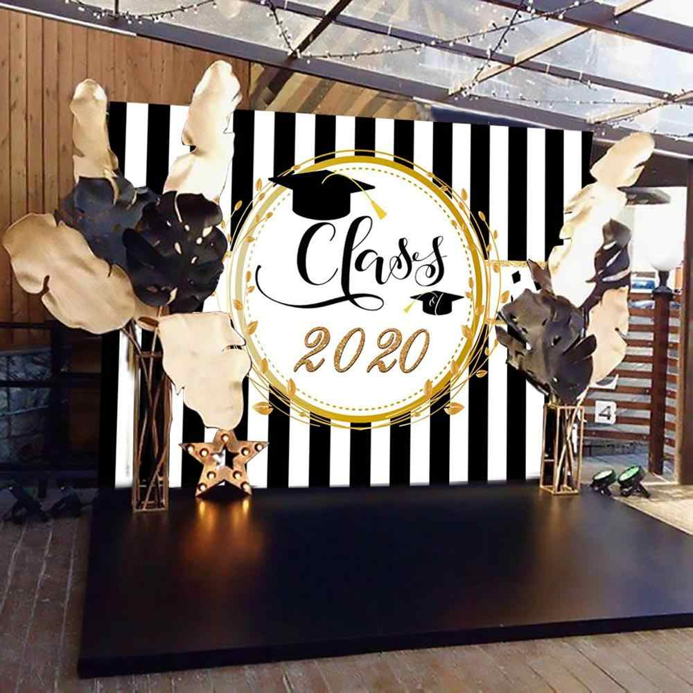 PATIMATE Graduation PARTY ฉากหลัง Photo Booth Props Graduation PARTY Decor 2020 Congrat Graduate I'M DONE Photobooth