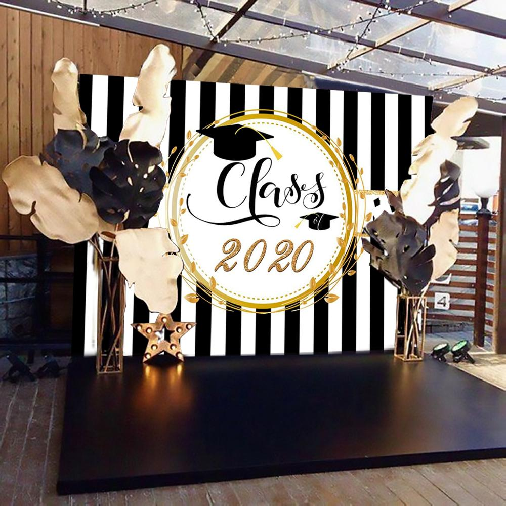 PATIMATE Graduation Party Backdrop Graduation Photo Booth Props Graduation Party Decor 2020 Congrat Graduate I'M DONE Photobooth