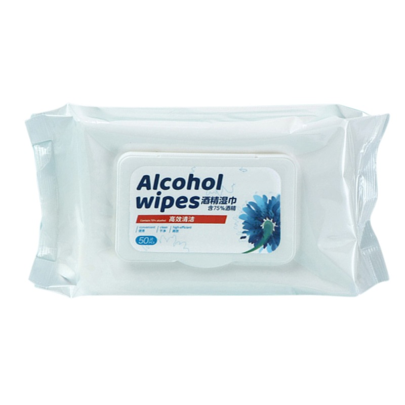Medical Disinfection Portable 75% Alcohol Swabs Pads Wipes Antiseptic Cleanser Hand Wipes Skin Toys Cleaning Health Care