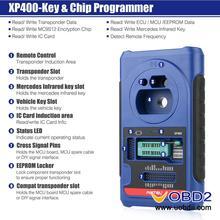 Autel XP400 Key and Chip Programmer Work with Autel MaxiIM IM608/IM508