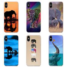 Soft TPU Non-slip Hot Elephant Printing For Galaxy Note 10 A10E A10S A20S A30S A40S A50S A6S A70S A730 A8S M30S S2 S3 Plus(China)