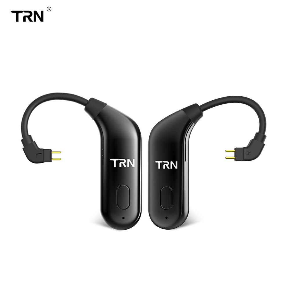TRN BT20 Bluetooth 5.0 ears upgrade cable running Bluetooth headset cable V80 ZST IM1 BT10 ZSN T2  ES4 ZS6 V30 T3 AS10 ZS10