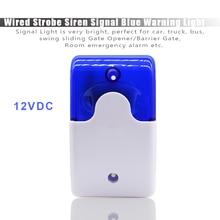 Mini strobe siren indicator light sound alarm lamp flashing light wired red 12V 24V 110DB 1 x hand crank operated emergency alarm siren sound rating 110db abs
