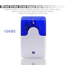цена на Wired Strobe Siren Durable 12V or 24V Sound Alarm Flashing Light Strobe Siren For 99 Zones PSTN/GSM Wireless home security Alarm