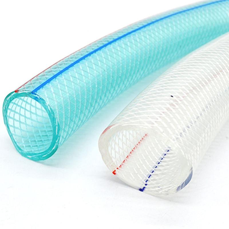 1M Transparent Antifreeze Water Pipe Soft Hose PVC Plastic Tube Outer Diameter 16 20 25mm Garden Irrigation Flexible Oxygen Tube