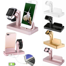 Cargador inalambrico 2In1 Charging Dock Station Holder Charger for IPhone XS 8 7 6 S Plus 5S Dock for Apple Watch Iwatch Charger
