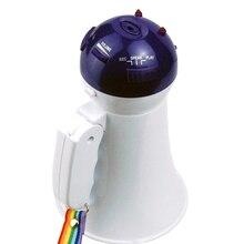 5W Microphone Portable Megaphone Wireless Teaching Recording Loud Speaker Foldable Speech Play Music Mini Handheld Horn