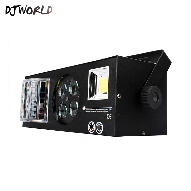 Good Quality LED Laser Strobe 4in1 DMX512 Stage Effect Lights Good For DJ Disco Birthday Party Wedding Decoration Clubs And Bar-in Stage Lighting Effect from Lights & Lighting