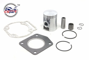 39MM 12MM Juego de junta de cojinete de anillo de pistón Morini 50 50CC Mini Moto Cross