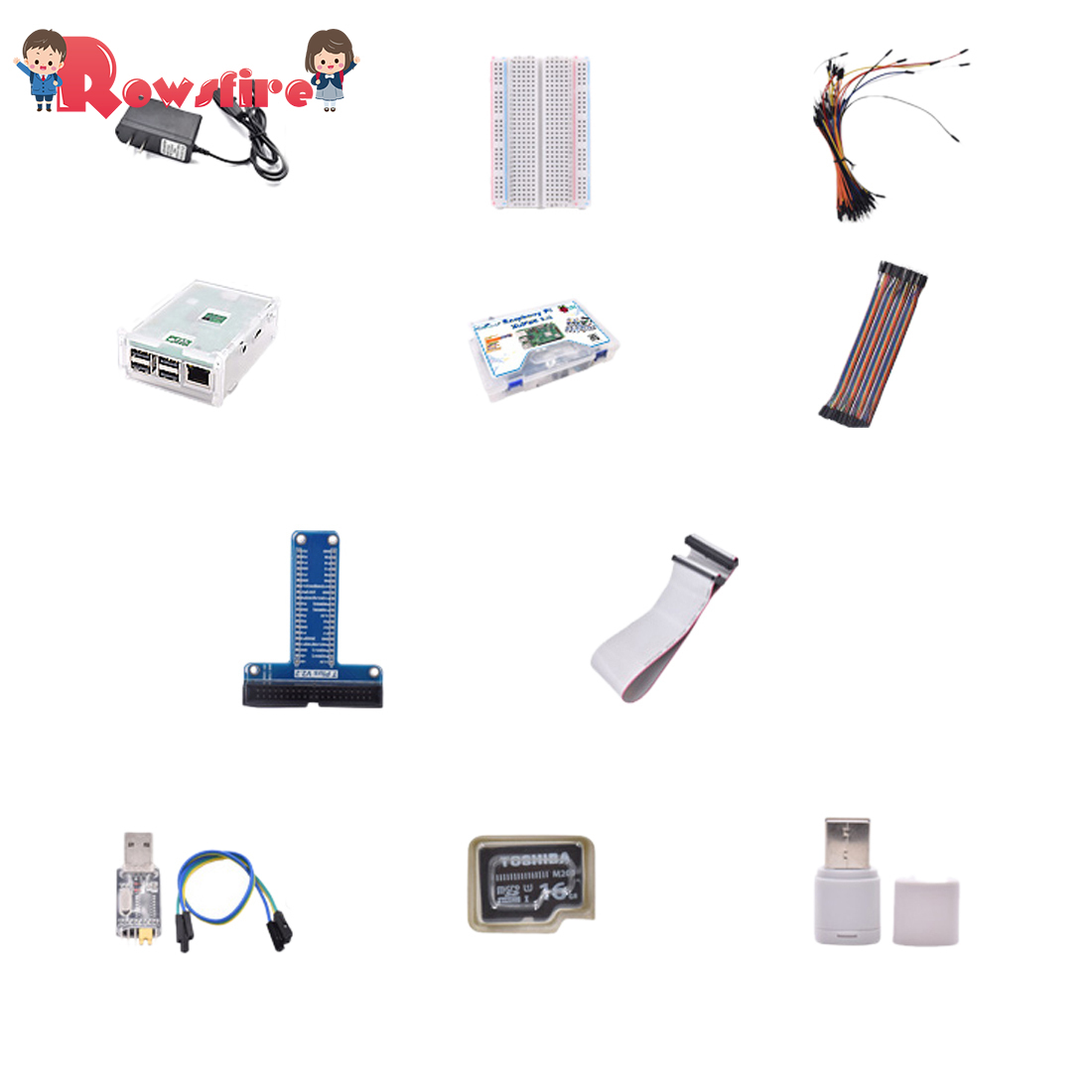 Deluxe Version Development Board Sensor Computer Suite Deluxe Version Without Mainboard For Raspberry Pi 3 B +