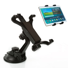 ABS Tablet Holder Bracket Black Plastic Adjustable Car For iPad 7-10 inch Universal 1Pc Parts(China)
