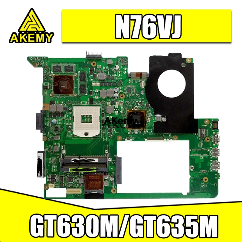 N76VJ Motherboard REV2.2 GT630M/GT635M For ASUS N76V N76VM N76VB N76VZ Laptop Motherboard N76VJ Mainboard Test Ok
