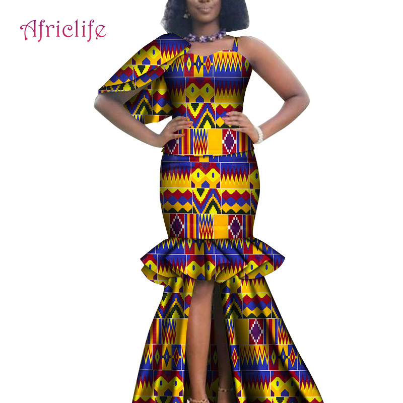 African Women Party Skirt Suit Custom Good Quality African Kitenge Dress Designs 2020 Model Fashion Clothes Wy6594 Dresses Aliexpress