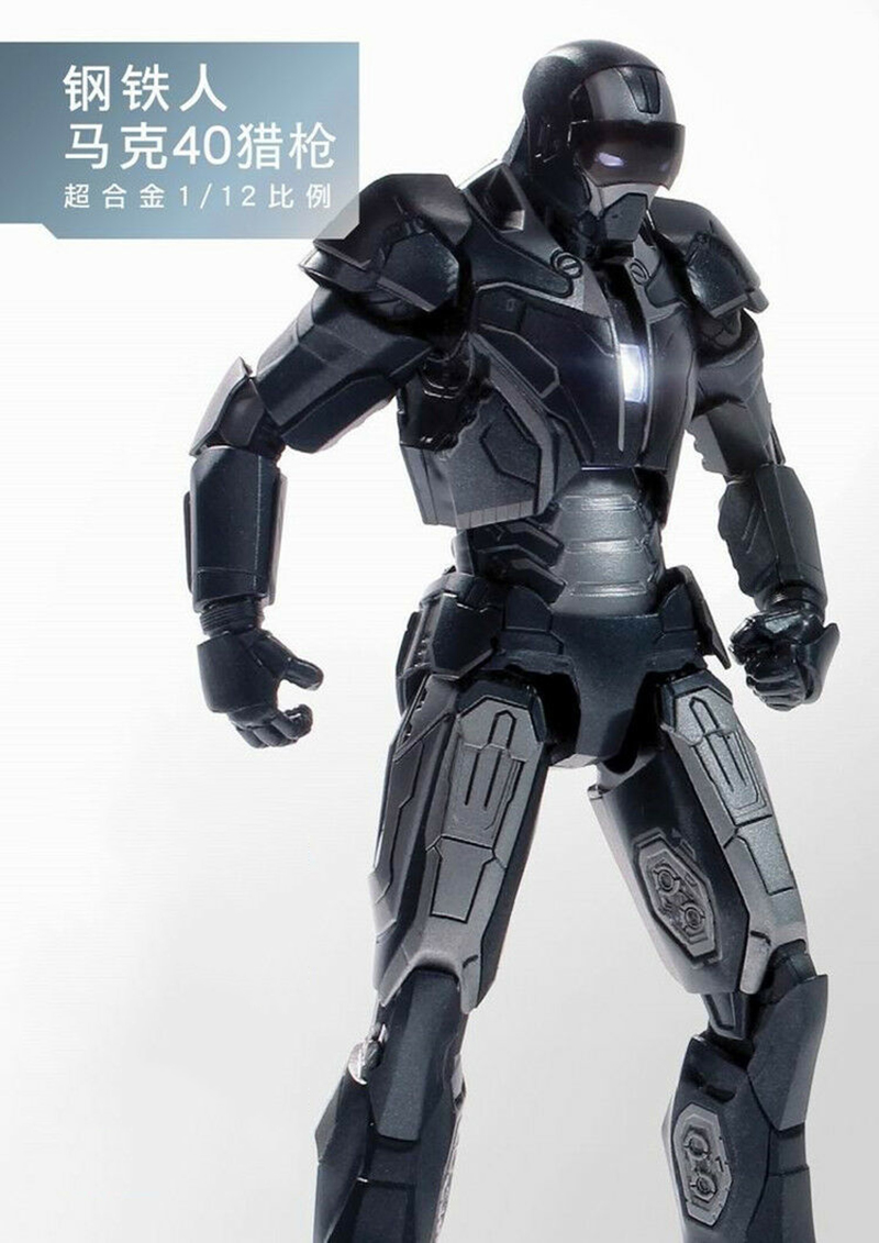 For Collection 1:12 Scale Full Set Action Figure Metal Diecast Iron Man MK23/25/26/30/33/38/40/42/43 for Fans Holiday Gifts