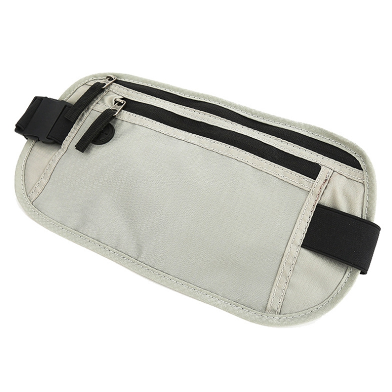 Waist Packs Unisex New Waterproof Nylon Wearable Multifunction Anti-Theft Belt Bag Casual Solid Outdoor Sports