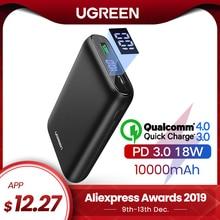 Ugreen Power Bank 10000mAh Quick Charge 4.0 3.0 QC3.0 Extern