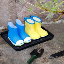 Многоцелевой пластиковый поднос для обуви, бытовой коврик для любой погоды в помещении или на открытом воздухе, грязные сапоги, семена садовых инструментов