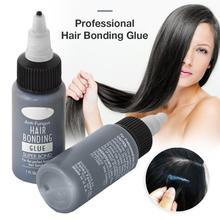 1 шт. водонепроницаемый профессиональный клей для удаления волос, гелевый клей, для предотвращения аллергии, для наращивания волос, аденсив...