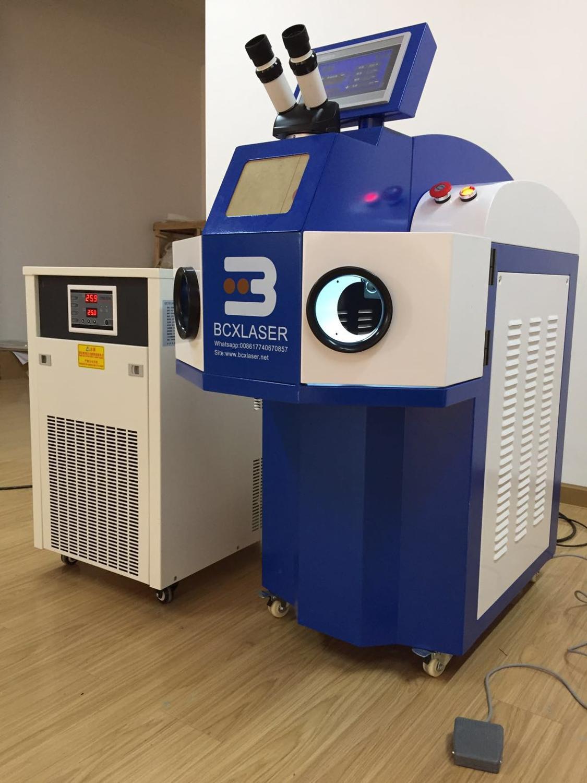 Gold and silver jewelry laser spot welding machine BCXlaser 200W fine spot performance stable laser equipment