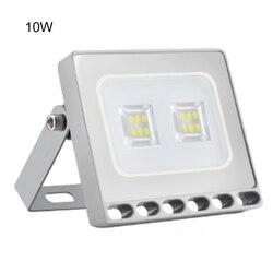 Nowy 10W 20W 30W 50W 100W 150W inteligentny reflektor Slim 110V LED reflektor SMD zewnętrzna wodoodporna IP65 lampa bezpieczeństwa