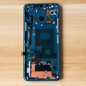 Image 3 - 6.1 LCD ل LG G7 LCD G710 G710EM G710PM G710VMP شاشة إل سي دي باللمس الجمعية شاشة محول الأرقام الإطار ل LG G7 thinQ LCD