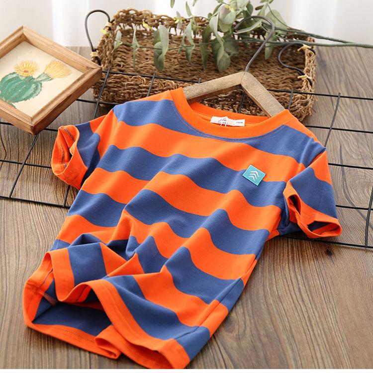 VIDMID Kids Boys T-shirt Summer Baby Boys Cotton Tops Toddler Tees Clothes Children Clothing T-shirts Short Sleeve Summer P111 4
